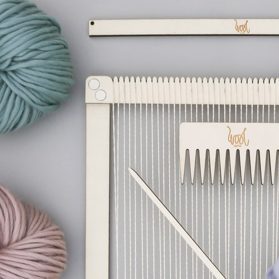 Weaving Loom Kit. Large lap loom. Learn to frame weave   Etsy