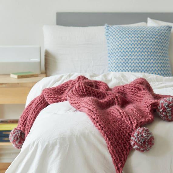 Decke stricken KIT Super Chunky DIY Riesen werfen stricken   Etsy