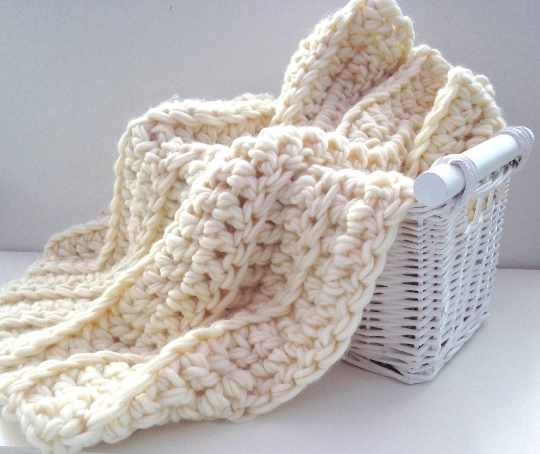 Beginners crochet kit luxury baby blanket. DIY learn to crochet ...