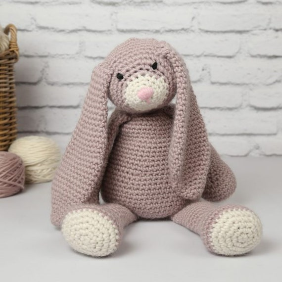 Crochet Amigurumi Bunny Toy Free Patterns Instructions | 570x570