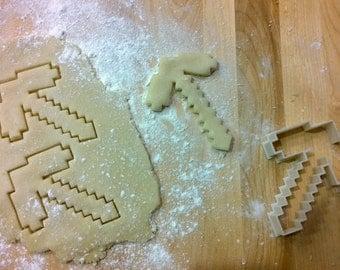 Minecraft Inspired MC P-Axe Cookie Cutter