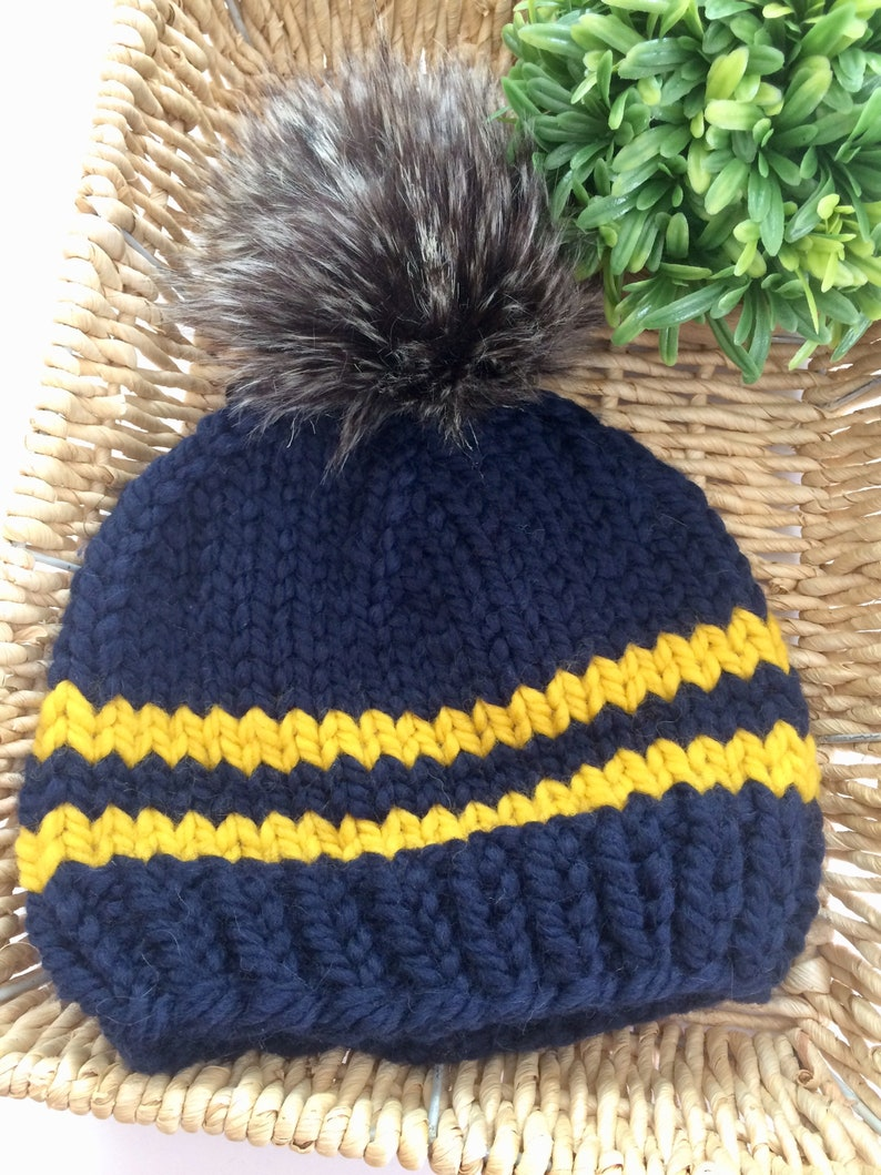 fd53e7400c1 Knit Toddler Beanie 1-3 yrs    Chunky Knit Toddler Hat