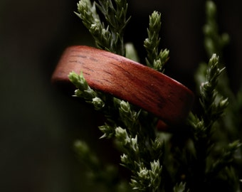 Handmade Redwood Bentwood Ring - Made to Order