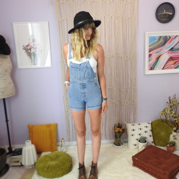 90's Gap Overalls; women's High Waisted vintage de