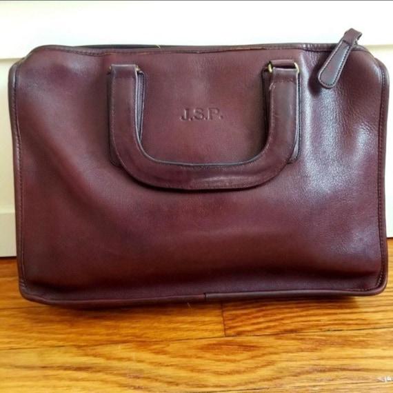RARE Coach 1970's Bonnie Cashin Portfolio Handbag