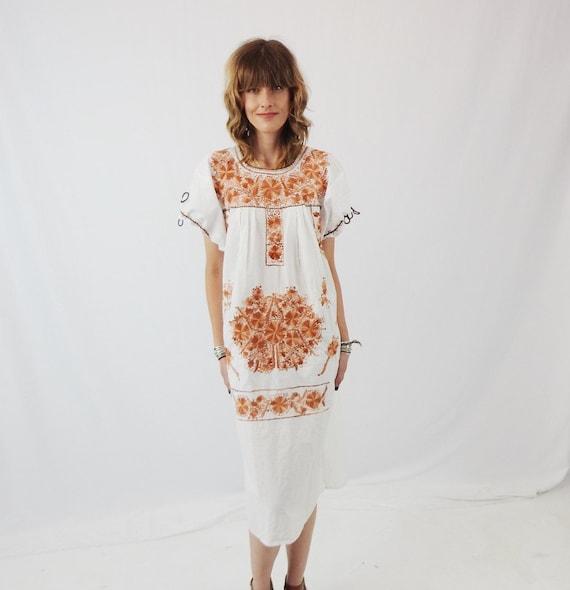 Women\'s Vintage Mexican Wedding Dress Handmade | Etsy
