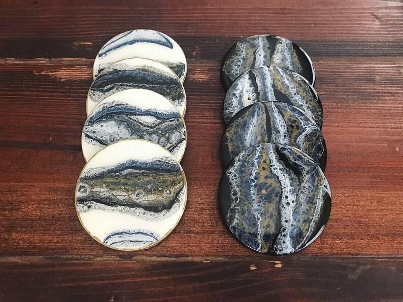 Handmade Hand Painted Coasters