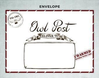 Harry Potter Owl Post Envelope