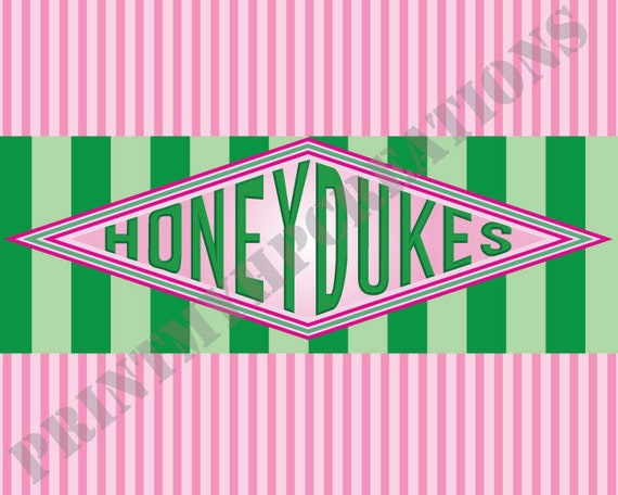 Honeydukes Sign Instant Download Pdf Printable Sign Etsy
