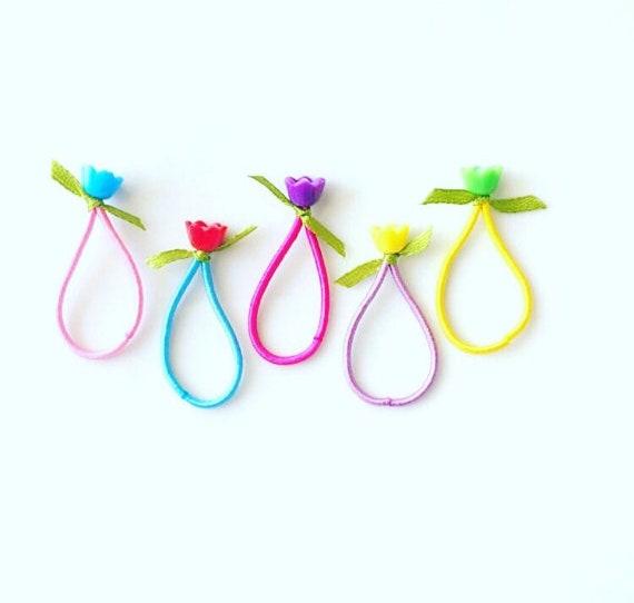 Toddler Hair Ties   Baby Hair Ties   Fine Hair Elastics   Mini  05ecb13104b