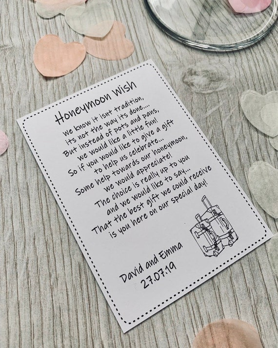 Wedding song cassette tape request cards personalised white or ivory card