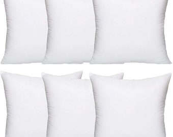 "Hollow fibre Pillow Cushion Pads Inners Inserts Fillers Scatters Filling 12/""x12/"""