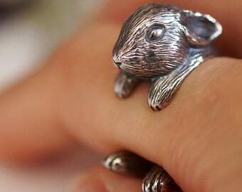 Netherland Dwarf rabbit Ring