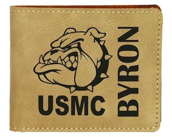 Devil Dog USMC Mascot BBQ Grilling Tool Set Personalized Engraved