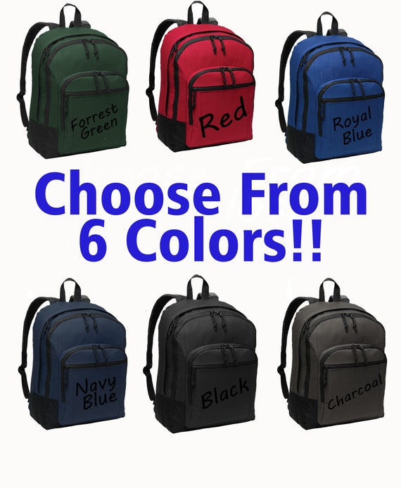EXCLUSIVE DESIGN Real Estate is My Superpower Embroidered Personalized Realtor Backpack