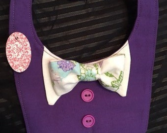 Tux Vest with Bow Tie