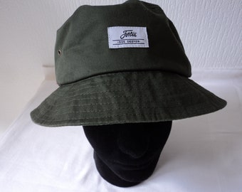 8453524a6f7 Fishermans Fortis olive green and camouflage hat (06936)