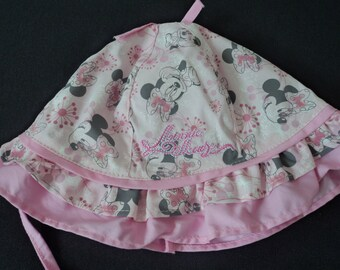 Disney Minnie Mouse babies sun hat 12-24 months (03118) 21b0c3ee8bb