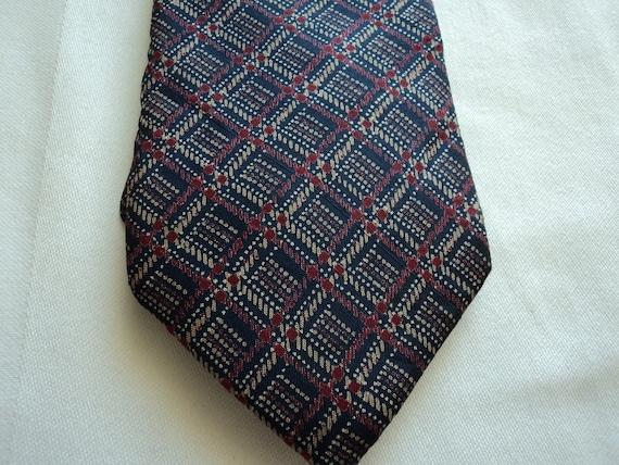 Vintage Jim Thompson men's Thai silk tie with free