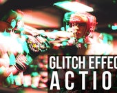 Items similar to Photoshop Glitch Effect | Photoshop Action