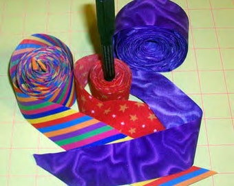 QuiltMoxie Binding by Ariana - Rotary Cut Bias Binding with seamless match across repeats - Easy Technique Pattern - Instant Download