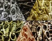 37mm Lobster Swivel Clasps Clips Bag Key Ring Hook Findings Keychain