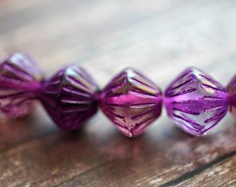 Aqua Bliss Bicones 16-2s Beads Czech Beads