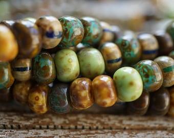 Picasso Seeds, Seed Beads, Czech Beads, Beads