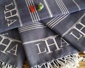 beach party blanket , turkish bath towel , wedding bridesmaid gift