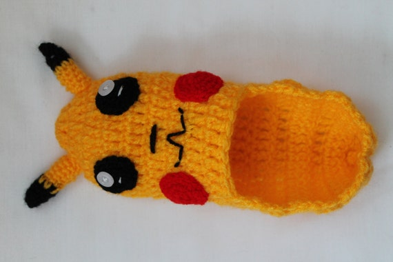 Gehaakt Patroon Pokemon Pantoffels Slippers Van Patroon Haak Etsy