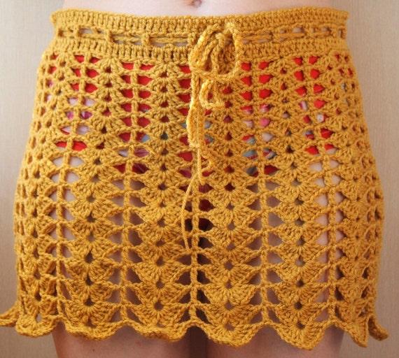 Crochet Skirt Pattern Womens Lace Skirt Pattern Lace Skirt Etsy