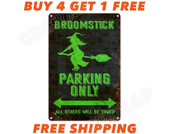 Broom Parking Etsy