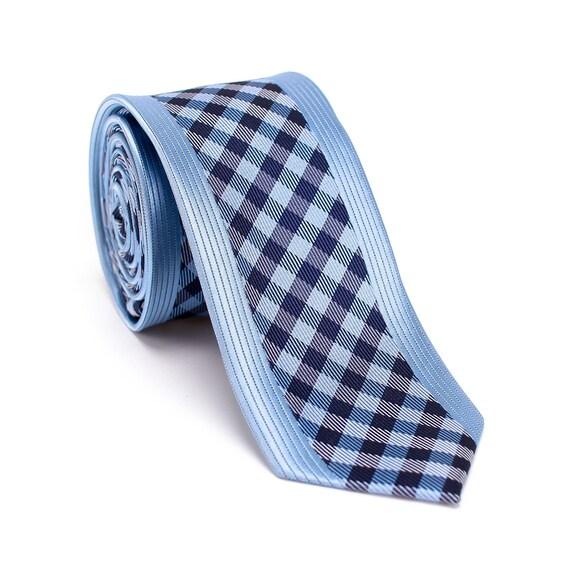 Neck Tie Wedding Neckties Groomsmen Gift Tie Mens Necktie Groomsmen Necktie Gingham Collection Ties Necktie Gingham Necktie Ties