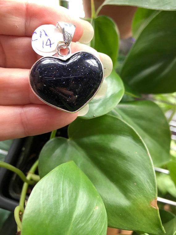Goldstone heart