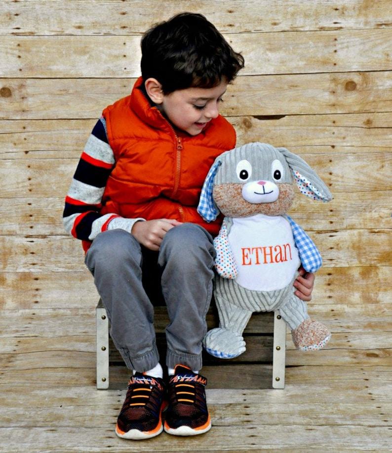Birth Announcement Stuffed Animal,Cubbies Personalized Stuffed Animal Bunny Easter Bunny Personalized Gift Easter Personalized Bunny
