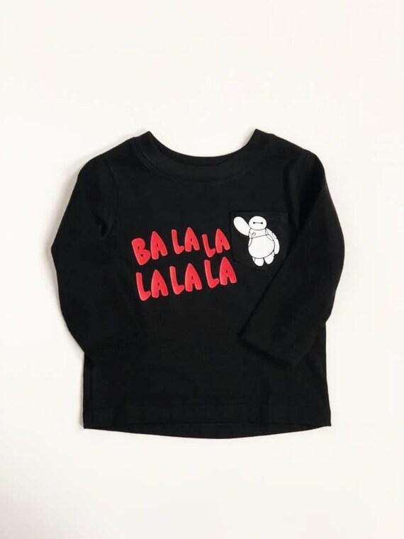 Robot Ba La 3 6 Months Baby Shirt Shower Gift