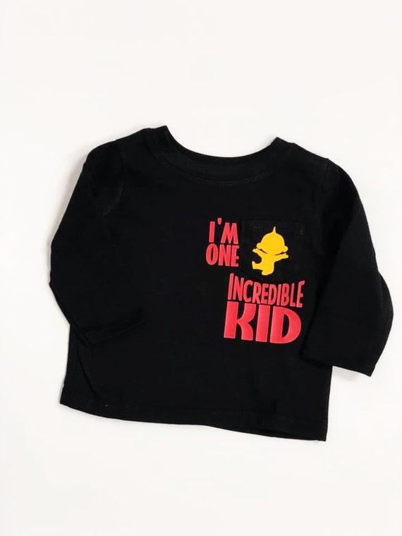 Im One Incredible Kid 0 3 Month Baby Shirt Shower Home Birthday Gift For Boyfriend