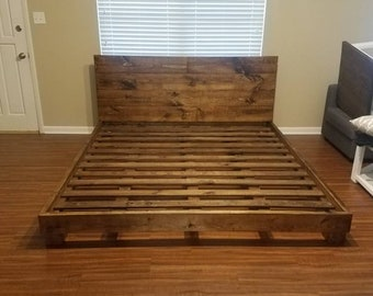 King Size Bed Etsy