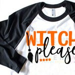 Witch please svg | SVG, DXF, EPS, png Files for Cutting Machines Cameo or Cricut | Womens Halloween Shirt | Cute Halloween svg | witch svg