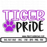 Tiger pride svg, SVG, DxF, EpS, Cut file, Tigers, Svg Sayings, football svg, Tigers svg , Tiger brother svg