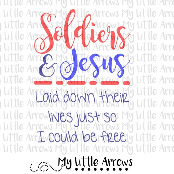 Soldiers And Jesus Svg Dxf Eps Png Files For Cutting Etsy