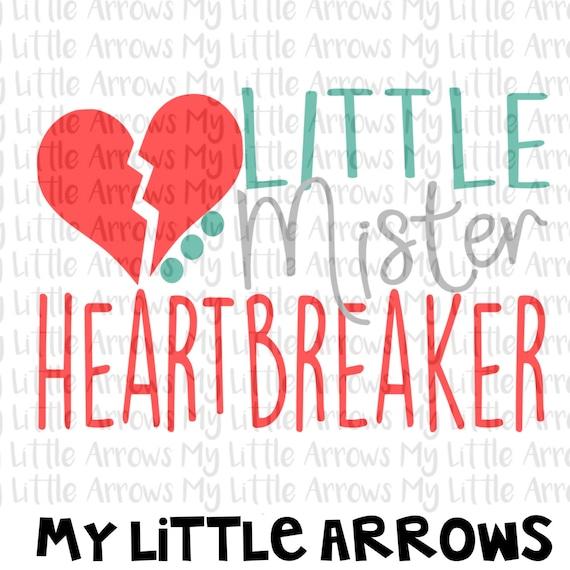 Little Mister Heartbreaker Svg Dxf Eps Png Files For Etsy