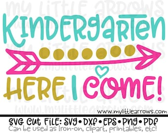 kindegarten SVG, DXF, EPS, png Files for Cutting Machines Cameo or Cricut - kindegarten printable | kindergarten printable | kinder svg
