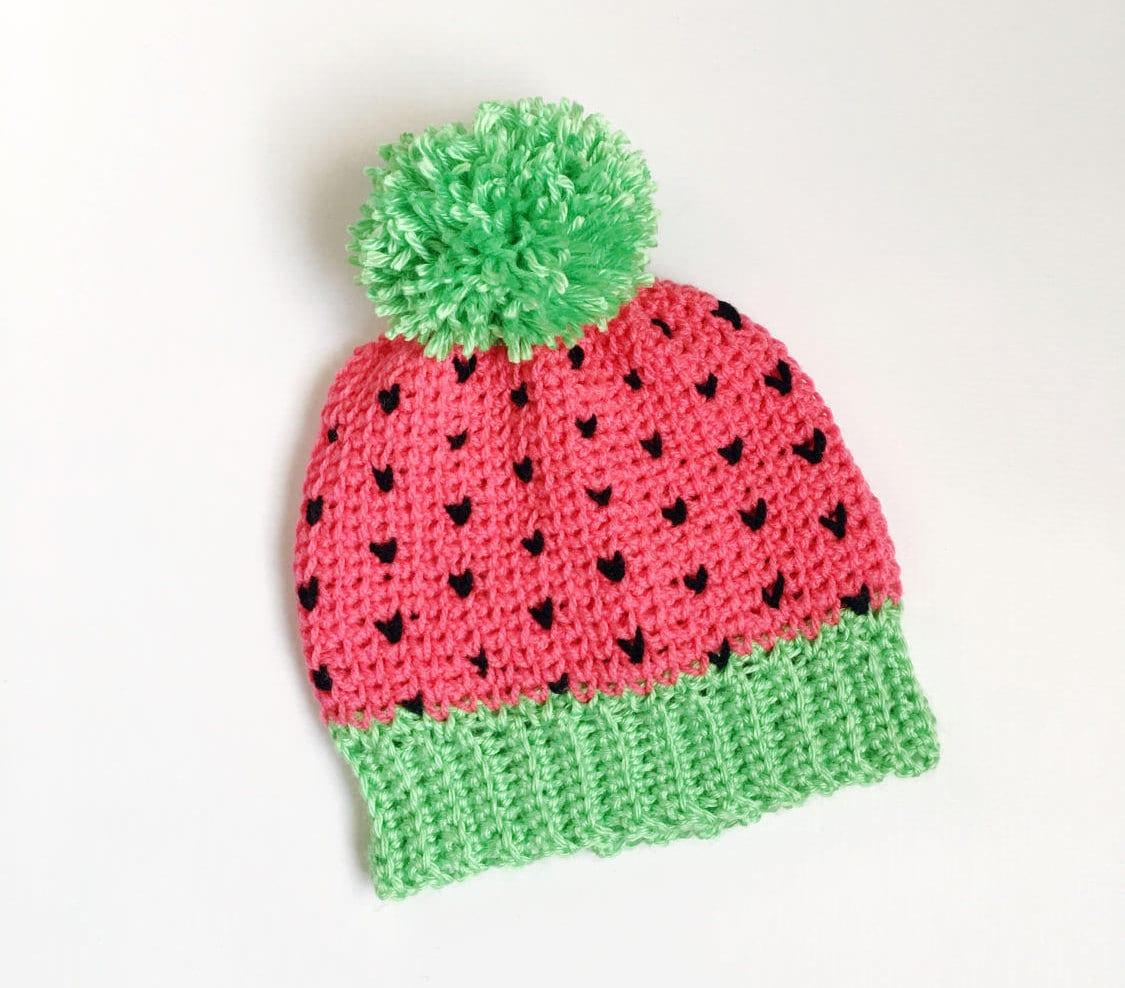Crochet Patterns Crochet Pattern Hat Fair Isle Hat Pattern Etsy