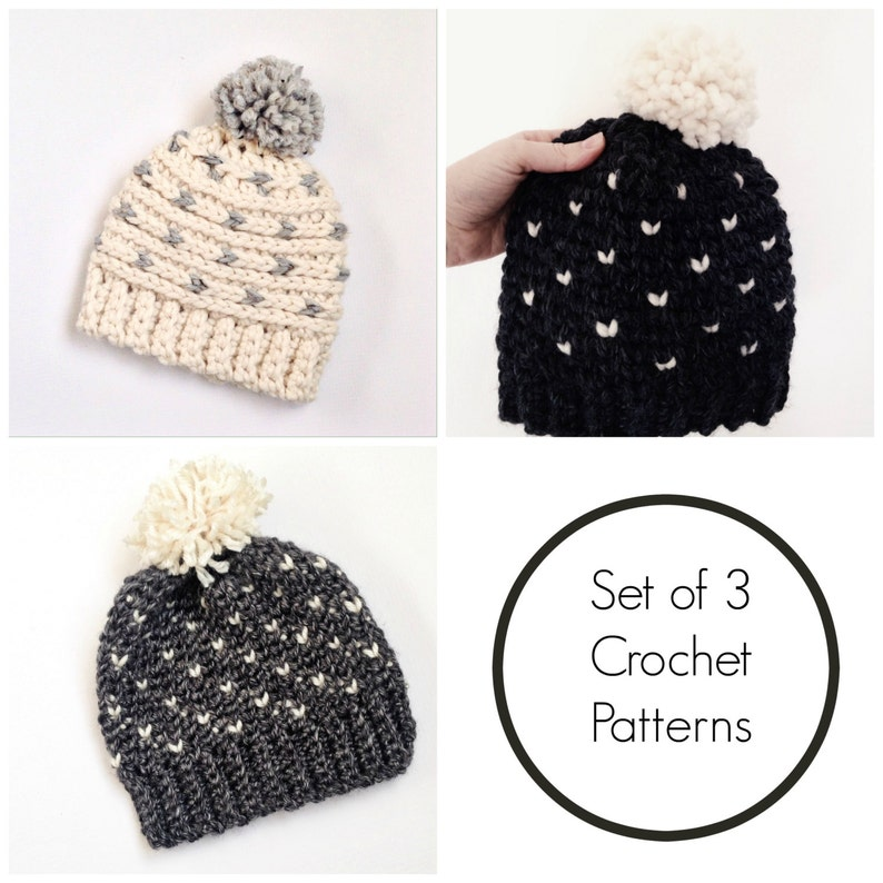b18aff78c hat crochet patterns / fair isle hat pattern / crochet toddler pattern /  crochet hat pattern / crochet patterns for kids / crochet beanie