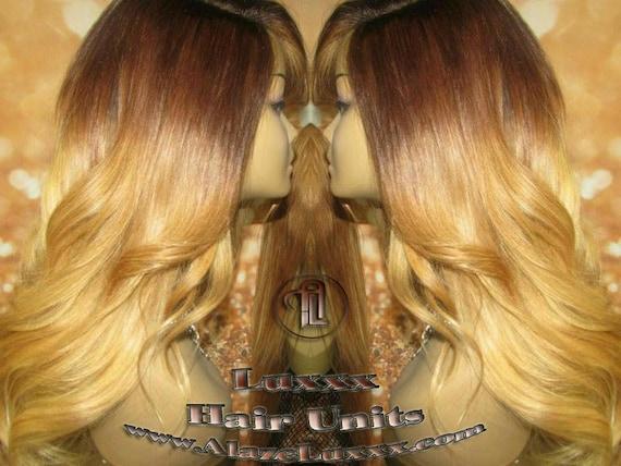 Gerade Blonde Haare Highlights Balayage Braun Honig Ombre Jungfrau Haar Einheit Perücke Verschluss Blonde Perücke 27 613 Platin Dunklen Wurzeln