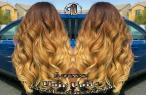 Brown Honey Blonde Ombre Highlights Balayage Colorist Wig Maker Virgin Hair Unit Wig Closure Blonde Wig 27 613 Platinum Dark Roots Alopecia