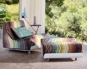 JUMPING FLASH*Fabric meterware Velvet velvet cotton upholstery upholstery strip Carlucci/Jab