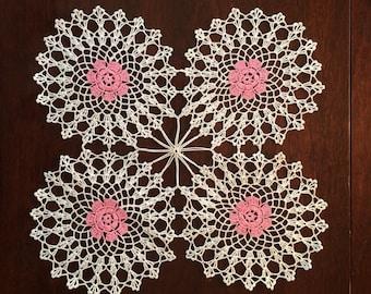Vintage doily  crochet