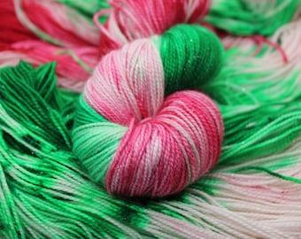 Deck the Halls Hand Dyed Yarn